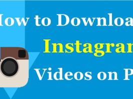 Download Instagram Videos onto your PC / Computer / MAC