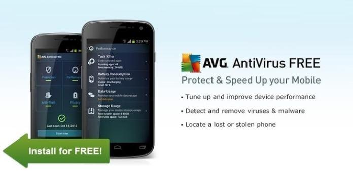 avg android antivirus