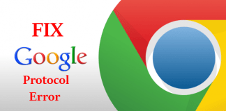 "Fix Google Chrome ""ERR_SPDY_PROTOCOL_ERROR"""