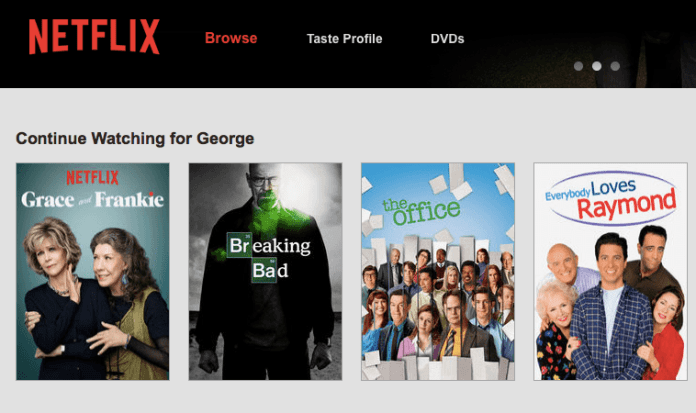 How to Delete Netflix History from the Activity page