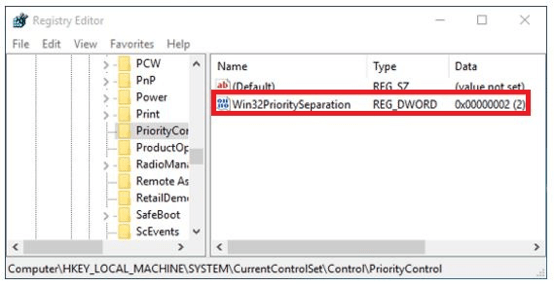 How To Set CPU Priority To Prefer Foreground Apps Windows 10