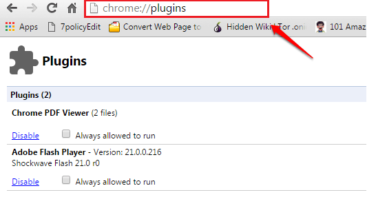 Complete List of Secret Google Chrome URLs And Their Uses