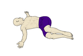 Reclined Spinal Twist