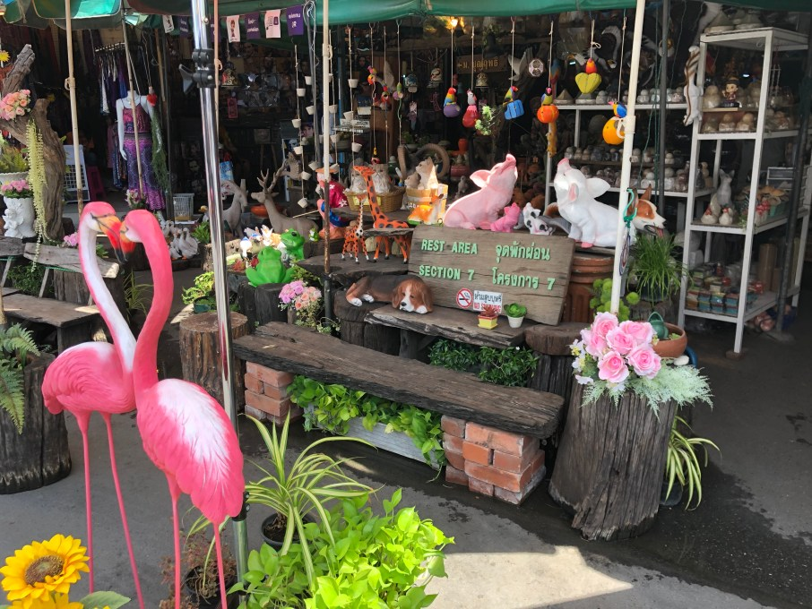 Visiting chatuchak weekend market