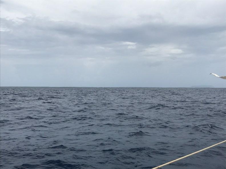 Une traversée bout au vent de la Marina du bas du fort aux iles de la petite terre