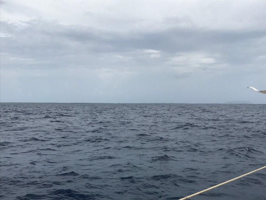 Une traversée bout-au-vent de la marina du bas du fort aux iles de la petite terre