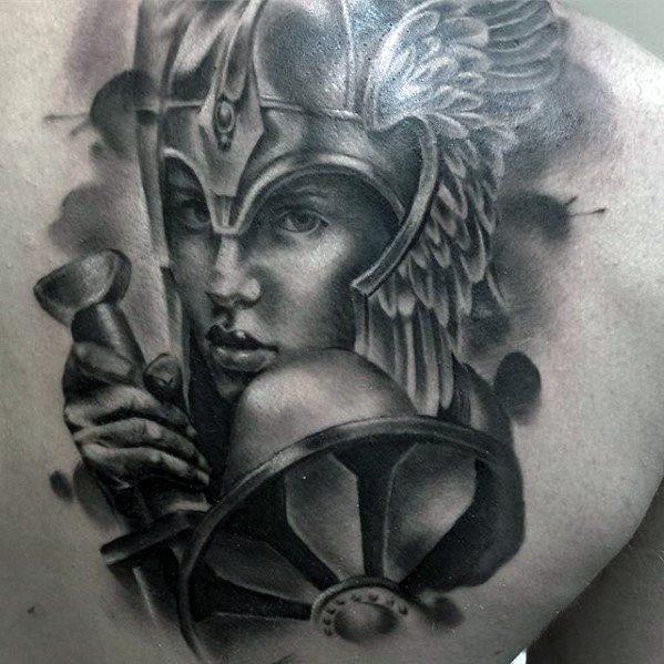 Das wort valkyrie leitet sich vom altnordischen wort valkyria ab, das sich aus zwei wörtern zusammensetzt:. 60 Valkyrie Tattoo Designs For Men - Norse Mythology Ink Ideas