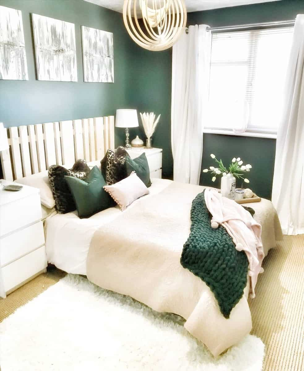 Let these rooms inspire you to go blue. The Top 69 Green Bedroom Ideas
