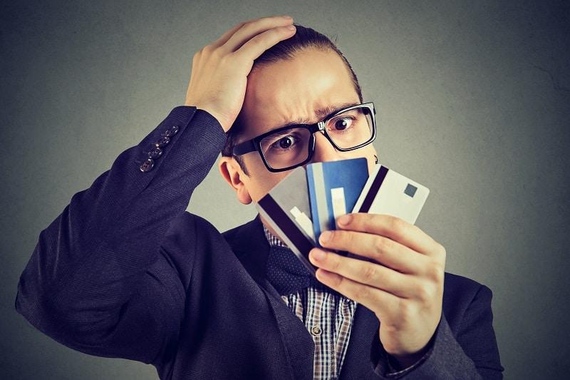 Establish a line of credit - Successful businessman