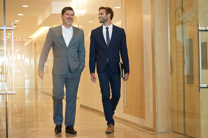 Maintain a rock solid relationship with your mentor from the start - Successful businessman