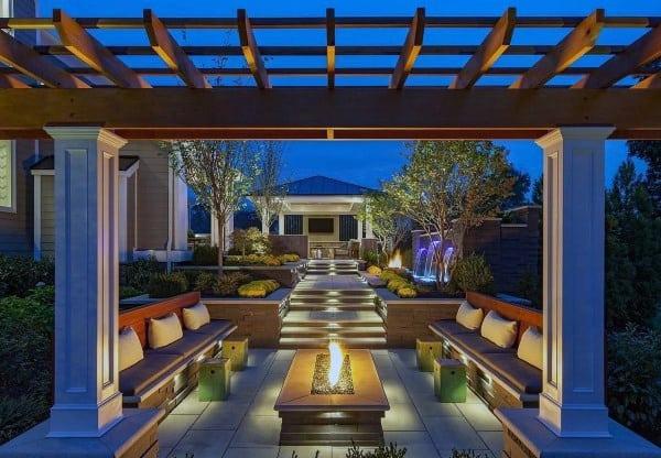 Top 60 Best Cool Backyard Ideas - Outdoor Retreat Designs on Cool Backyard Patio Ideas id=54680