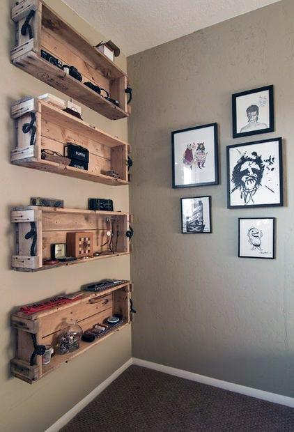 Easy and inexpensive, this mobile will lend panache to any nursery. 50 Cheap Man Cave Ideas For Men - Low Budget Interior Design