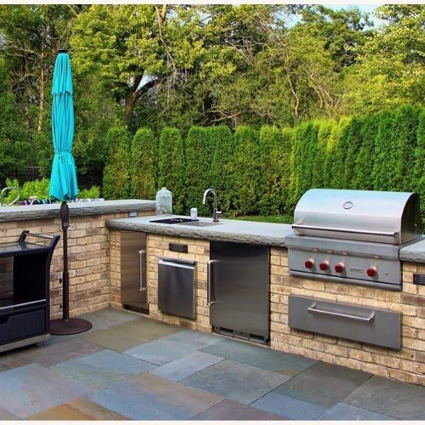 outdoor patio kitchen design idea Top 60 Best Outdoor Kitchen Ideas - Chef Inspired Backyard