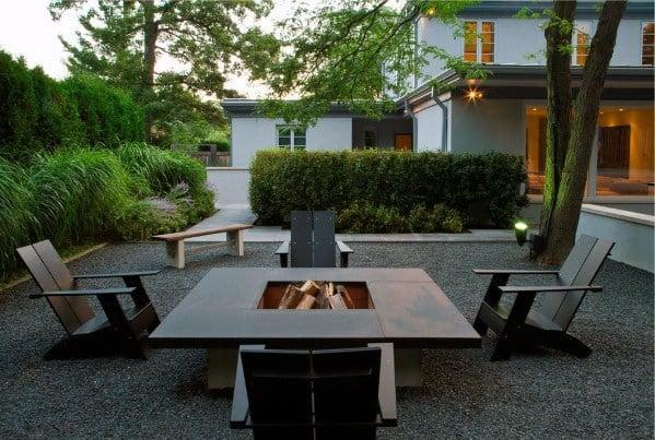 Top 40 Best Gravel Patio Ideas - Backyard Designs on Backyard With Gravel Ideas id=65856