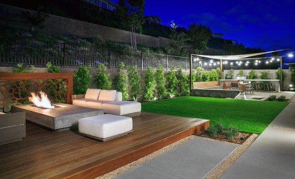 Top 50 Best Modern Deck Ideas - Contemporary Backyard Designs on Modern Backyard Patio Ideas  id=23229