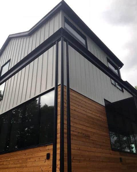 Top 60 Best Exterior House Siding Ideas - Wall Cladding ... on Modern House Siding Ideas  id=61431