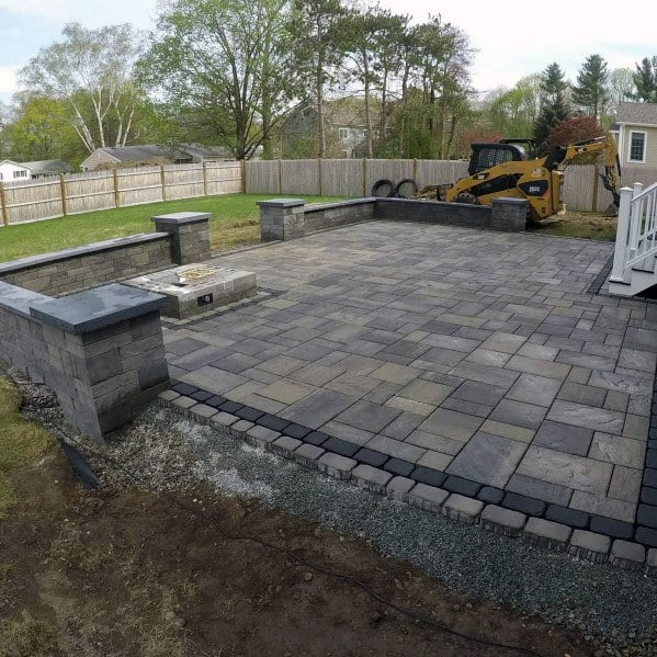 Top 60 Best Paver Patio Ideas - Backyard Dreamscape Designs on Yard Paver Ideas  id=32239