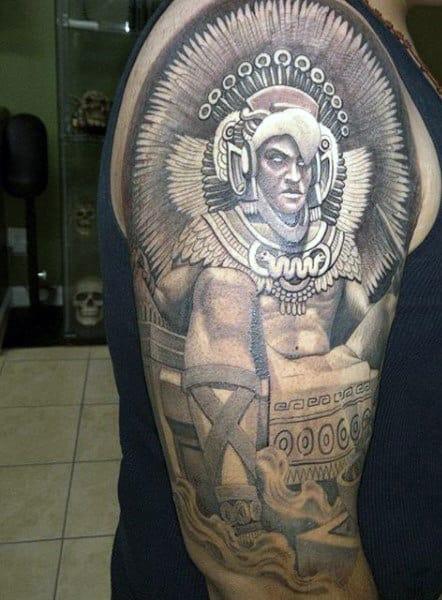 Kokopelli Tattoos Men