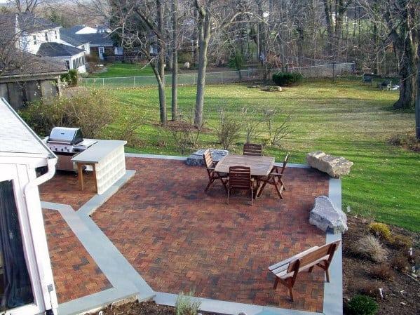 Top 50 Best Brick Patio Ideas - Home Backyard Designs on Brick Ideas For Backyard id=31723