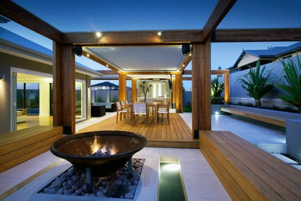 Top 60 Best Backyard Deck Ideas - Wood And Composite ... on Patio With Deck Ideas id=74709