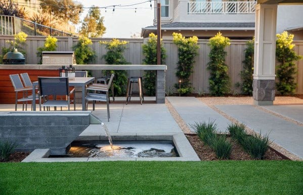 Top 70 Best Modern Patio Ideas - Contemporary Outdoor Designs on Modern Backyard Patio Ideas  id=61748