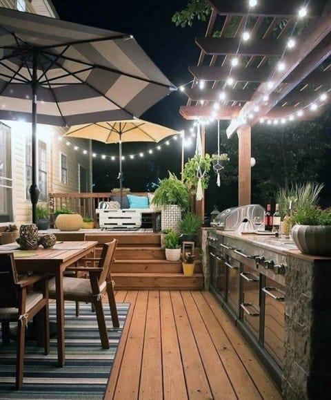 Top 40 Best Patio String Light Ideas - Outdoor Lighting ... on Backyard String Light Designs id=66117