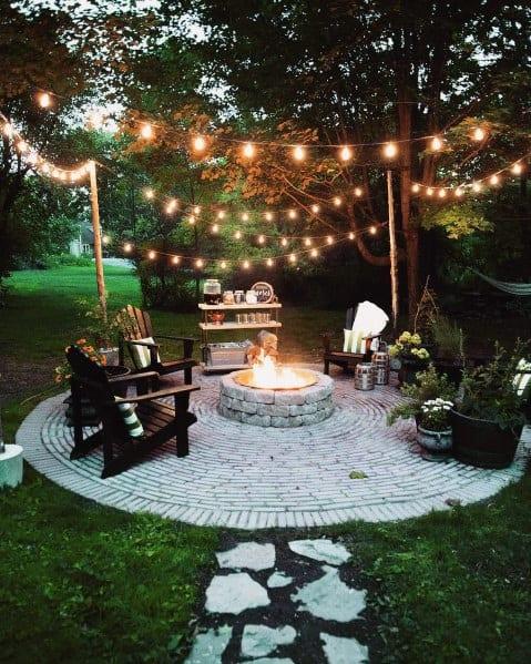Top 40 Best Patio String Light Ideas - Outdoor Lighting ... on Backyard String Light Designs id=79024