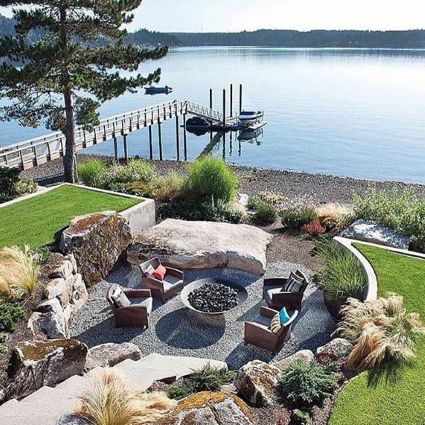 Top 40 Best Gravel Patio Ideas - Backyard Designs on Patio Gravel Ideas id=91800