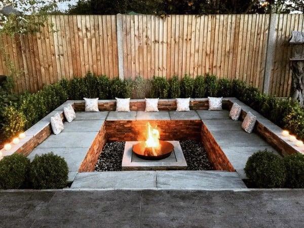 Top 60 Best Fire Pit Ideas - Heated Backyard Retreat Designs on Garden Ideas With Fire Pit id=18405