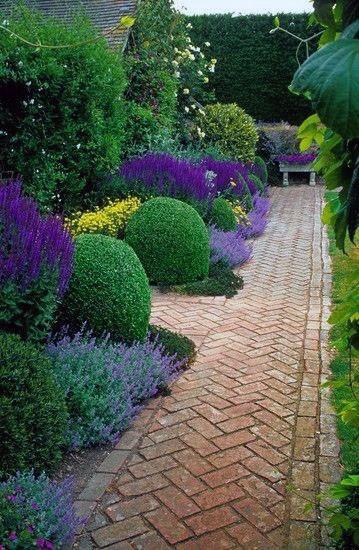 Top 50 Best Brick Walkway Ideas - Hardscape Path Designs on Backyard Walkway Ideas id=25704