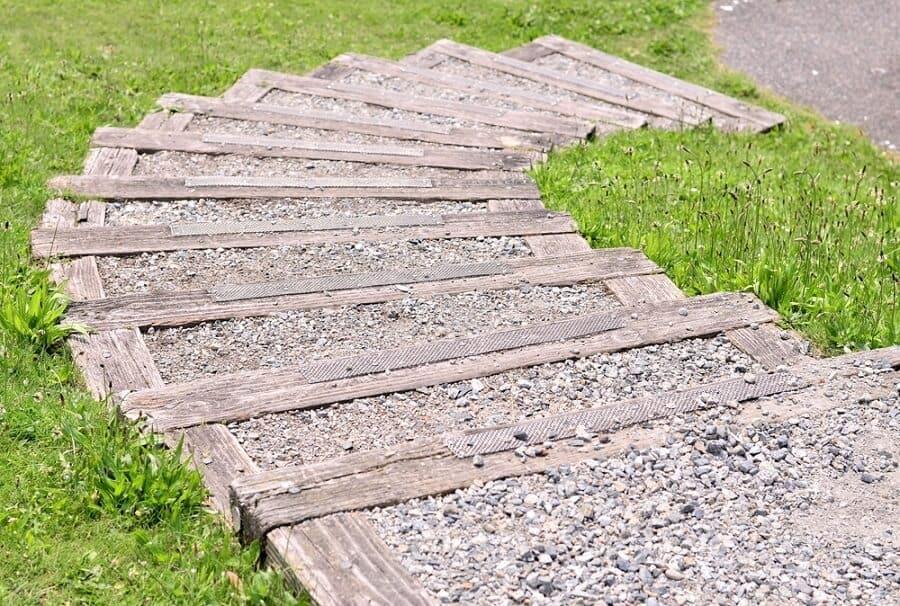 Top 50 Best Wooden Walkway Ideas - Wood Path Designs on Wooded Backyard Ideas id=30607