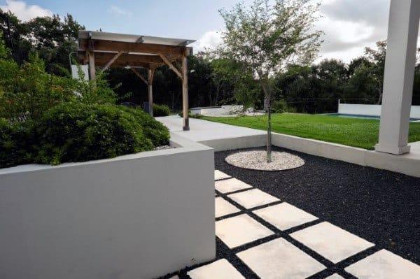 Top 70 Best Modern Landscape Design Ideas - Landscaping ... on Contemporary Backyard  id=22179