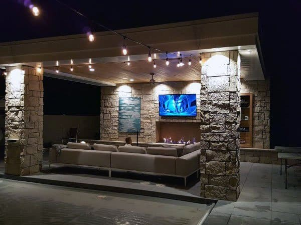 Top 50 Best Backyard Pavilion Ideas - Covered Outdoor ... on Outdoor Patio Pavilion id=98129