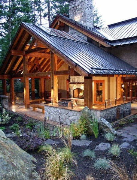 Top 50 Best Backyard Pavilion Ideas - Covered Outdoor ... on Outdoor Patio Pavilion id=89432