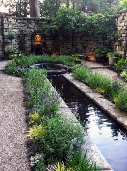 Top 50 Best Backyard Pond Ideas - Outdoor Water Feature ... on Backyard Pond Landscaping Ideas  id=68421