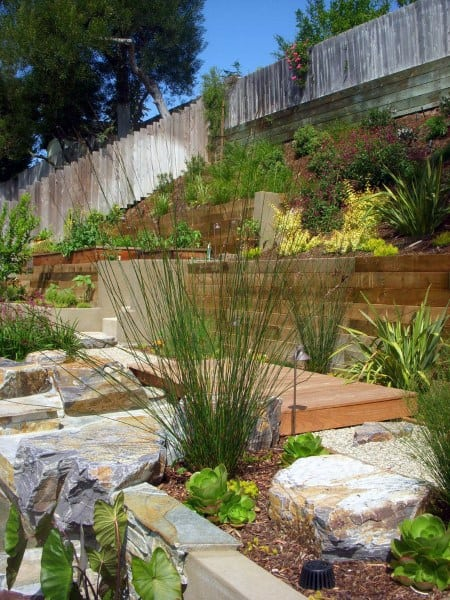Top 60 Best Retaining Wall Ideas - Landscaping Designs on Wall Ideas For Yard id=91224