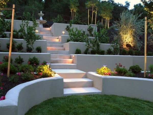 Top 60 Best Retaining Wall Ideas - Landscaping Designs on Wall Ideas For Yard id=41194