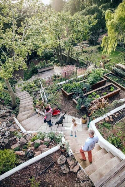 Top 50 Best Slope Landscaping Ideas - Hill Softscape Designs on Backyard Hill Landscaping Ideas  id=58599