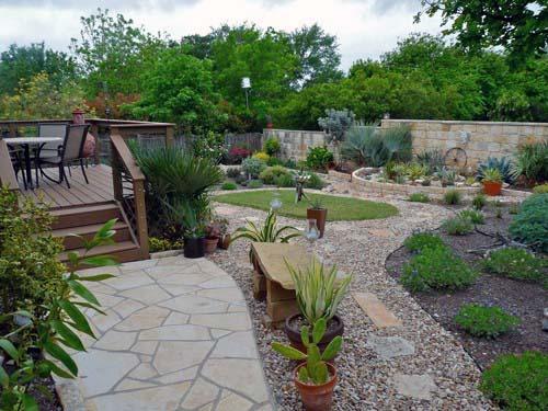 Top 60 Best Gravel Landscaping Ideas - Pebble Designs on Backyard Pebbles Design id=34649