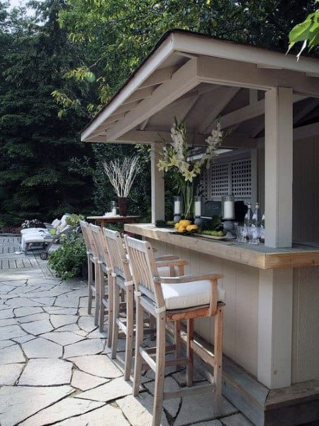 Top 50 Best Backyard Outdoor Bar Ideas - Cool Watering Holes on Best Backyard Patio Designs id=75938