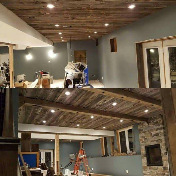Top 60 Best Basement Lighting Ideas Illuminated Interior