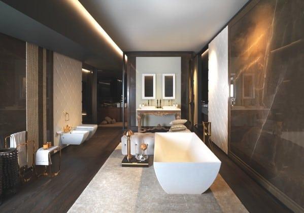 Top 60 Best Modern Bathroom Design Ideas For Men