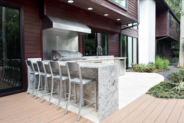 Top 60 Best Backyard Deck Ideas - Wood And Composite ... on Best Backyard Patio Designs id=44525