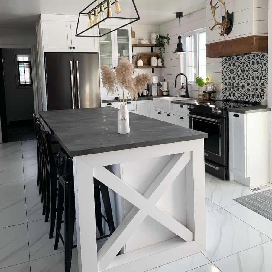 The Top 70+ Best Modern Farmhouse Kitchen - Interior Home ... on Luxury Farmhouse Kitchen  id=59624