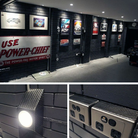 50 Garage Paint Ideas For Men - Masculine Wall Colors And ... on Garage Color Ideas  id=16080