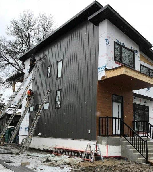 Top 60 Best Exterior House Siding Ideas - Wall Cladding ... on Modern House Siding Ideas  id=85306