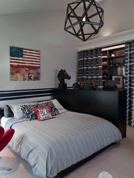 Top 70 Best Teen Boy Bedroom Ideas - Cool Designs For ... on Teenage Bedroom Ideas Boy  id=14651