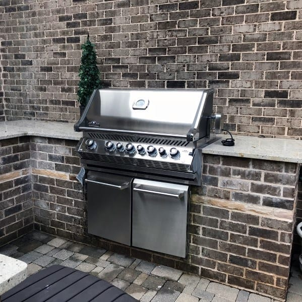 Top 50 Best Built In Grill Ideas - Outdoor Cooking Space ... on Built In Grill Backyard id=45489
