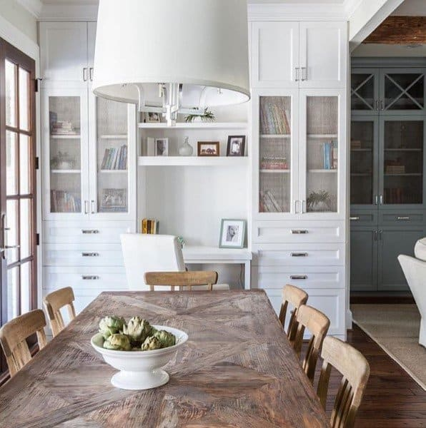 Top 50 Best Built In Desk Ideas Cool Work Space Designs
