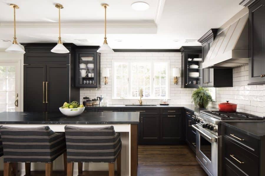 The Top 70+ Best Modern Farmhouse Kitchen - Interior Home ... on Luxury Farmhouse Kitchen  id=99904